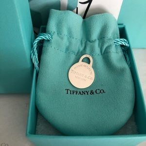 Tiffany & Co. RTT Round Tag Charm